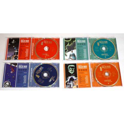 Dalek Empire II Dalek War Chapters One, Two, Three and Four (Audio CD)