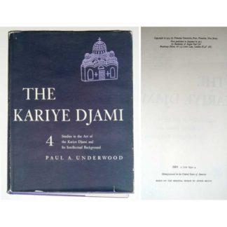 Kariye Djami: Studies in the Art of the Kariye Djami and Its Intellectual Background v. 4