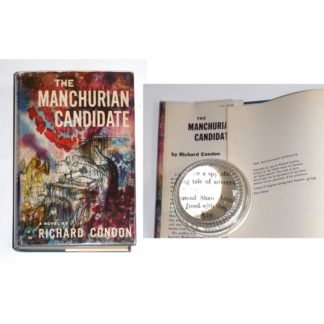 The Manchurian Candidate [hardcover / dustjacket] by Richard Condon [1959]
