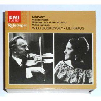Mozart: Sonatas for Violin [audio CD] Willi Boskovsky, Lili Kraus, Mozart