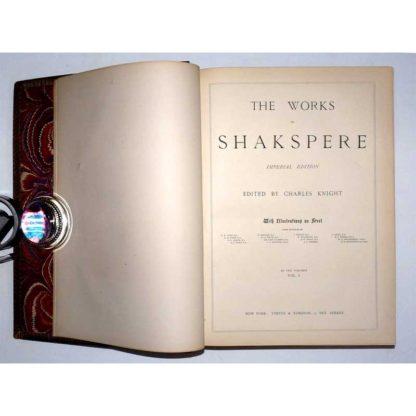 Works of Shakspere (Shakespeare, illustrated, 1870s)