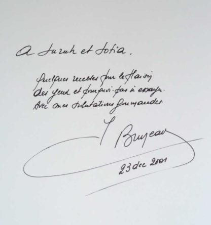 Bruneau a Bruxelles (Signed) hardcover / dustjacket [2001]